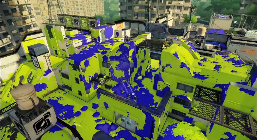 Splatoon August Update New Map