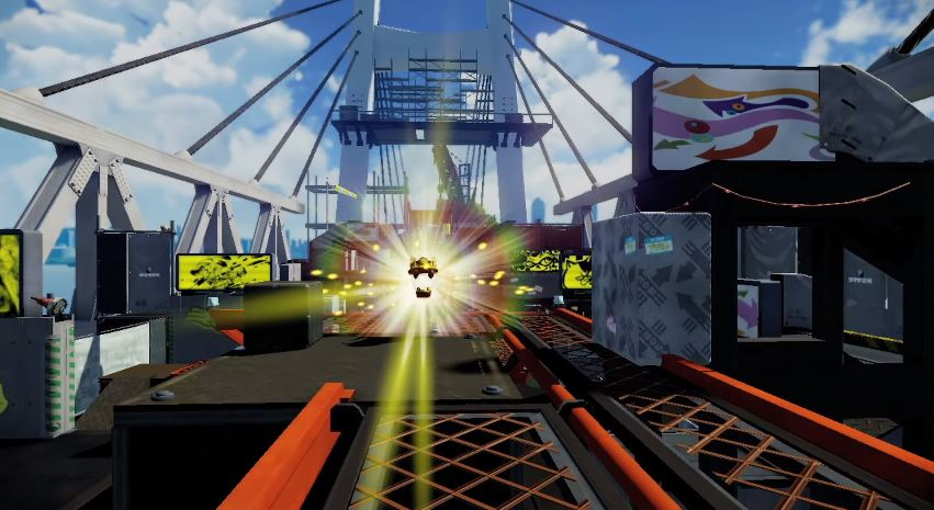 Splatoon August Update New Map