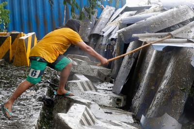 Philippines Aquino protest