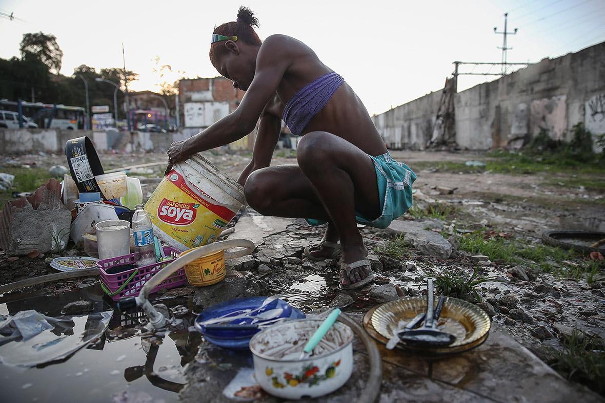 Rio 2016 Autodromo favela