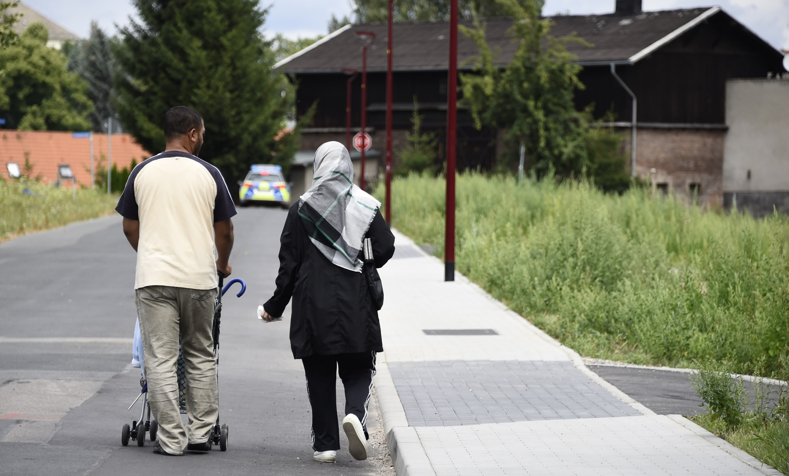 An immigrant couple in Freital