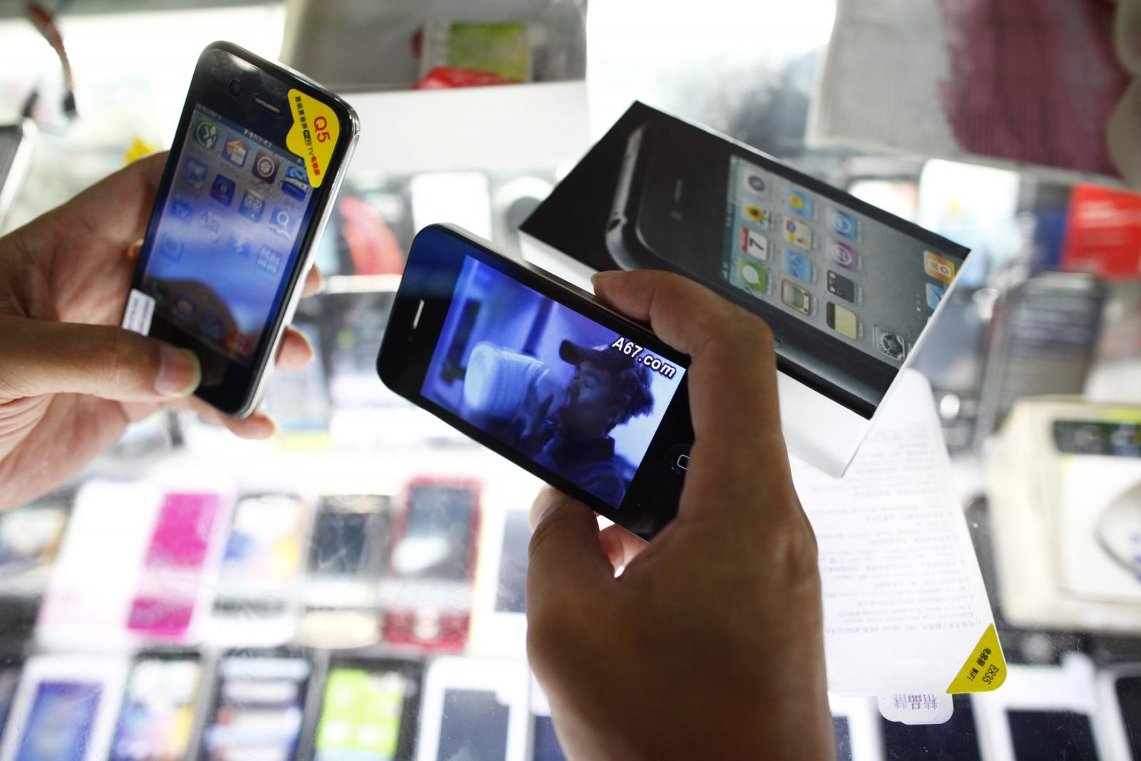 Fake iPhone in China