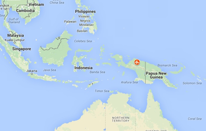 papua earthquake