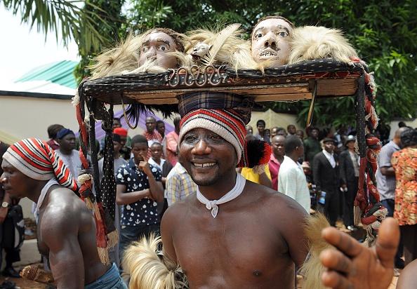 Odumegwu Ojukwu funeral  Biafra