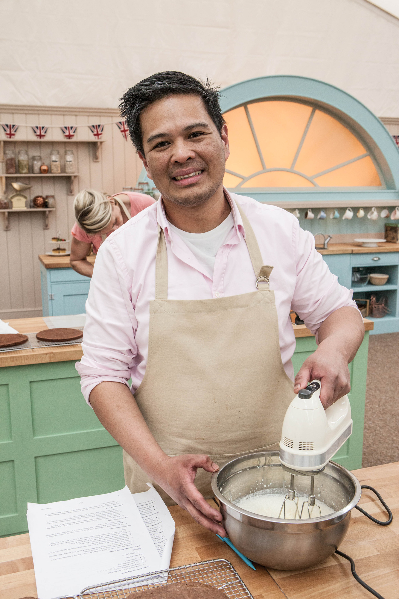 Alvin from The Great British Bake Off