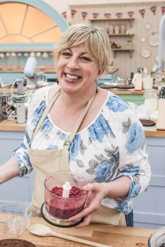 Sandy from The Great British Bake Off