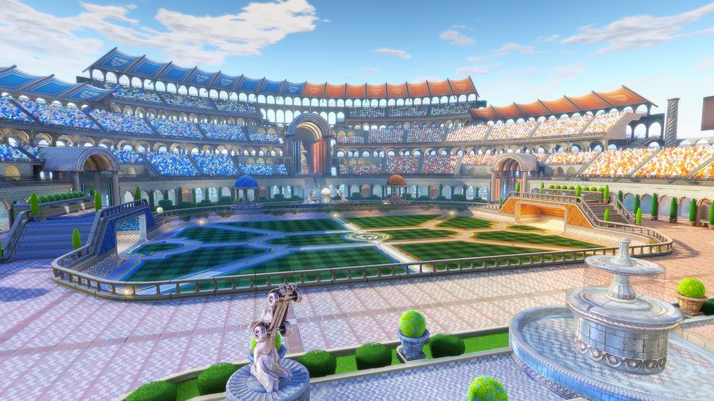 Rocket League new map Utopia Coliseum