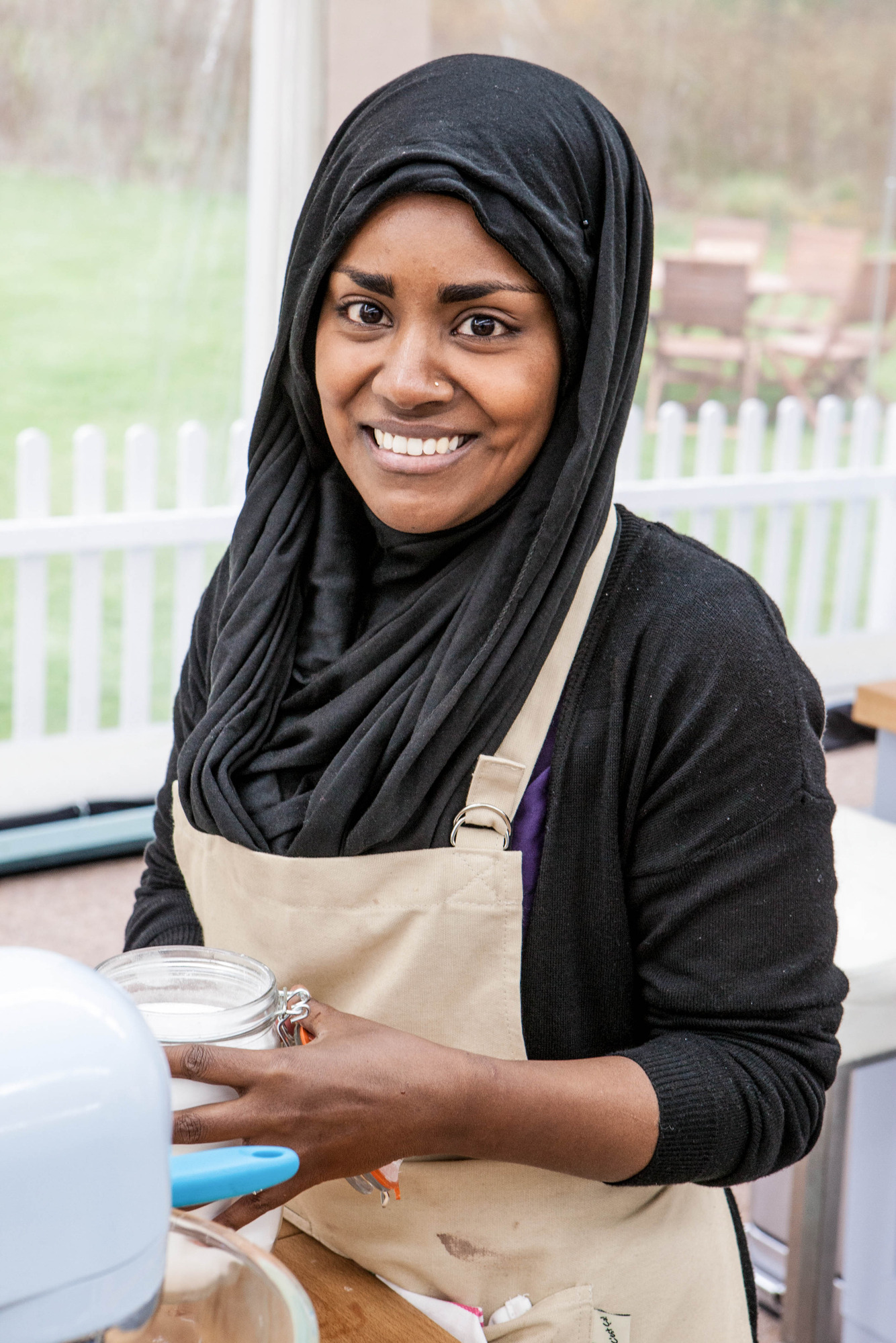 Nadiya from The Great British Bake Off