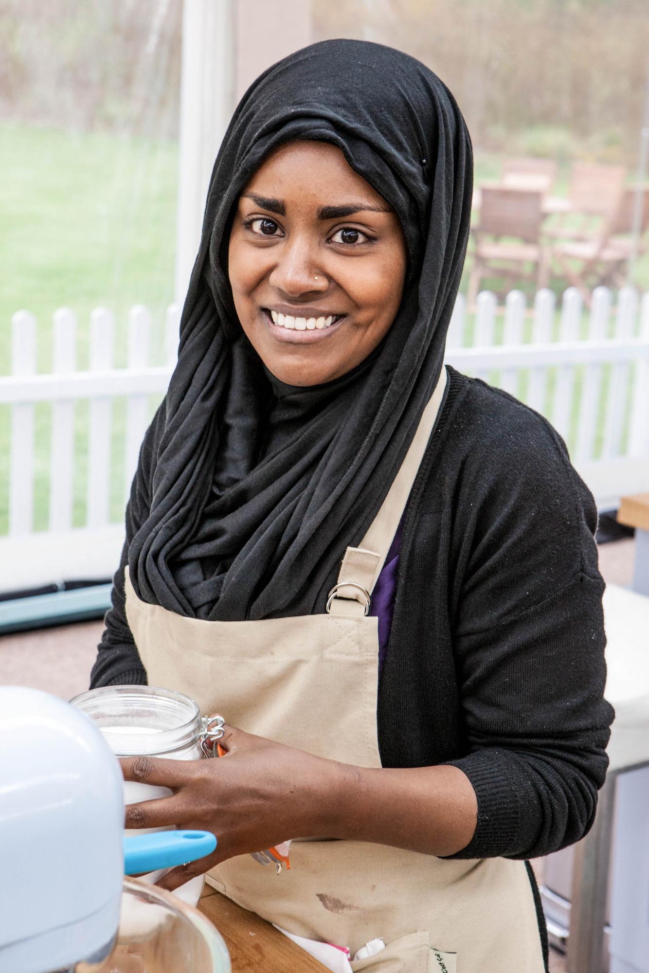 Nadiya from The Great British Bake Off