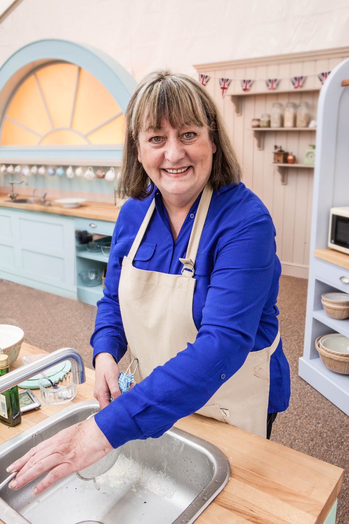 Marie from The Great British Bake Off