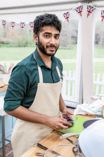 Tamal from The Great British Bake Off