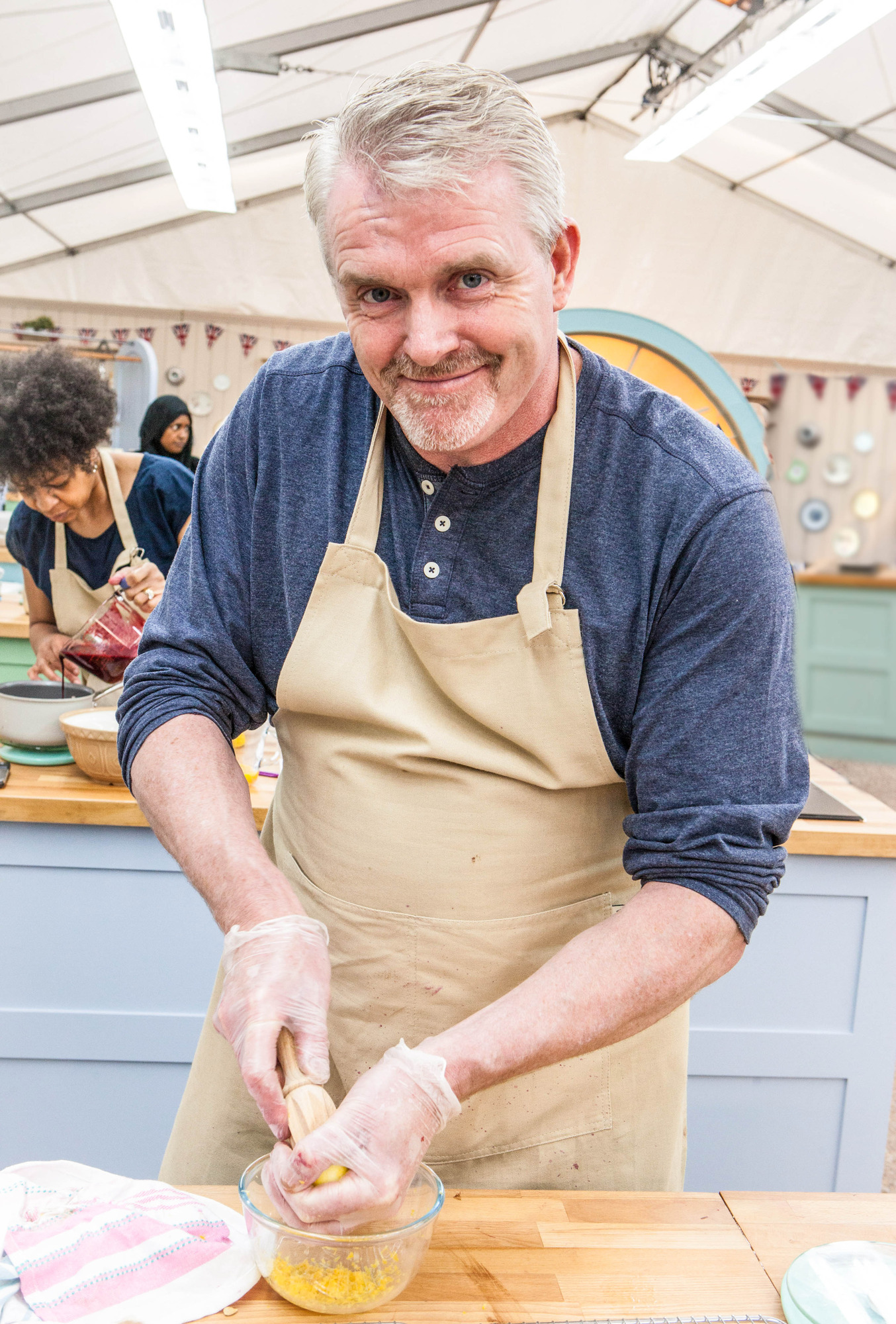Paul from The Great British Bake Off
