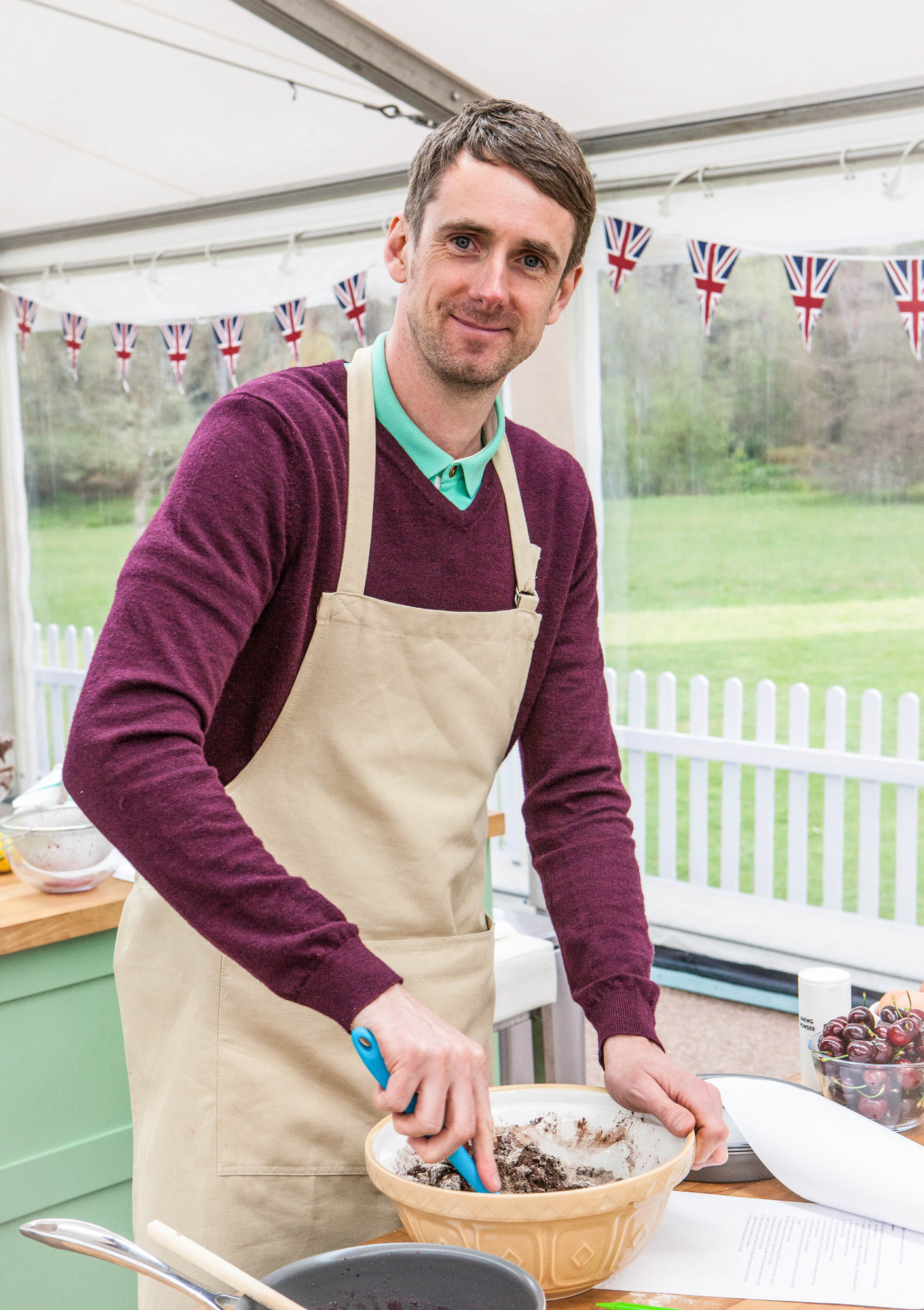 Mat from The Great British Bake Off