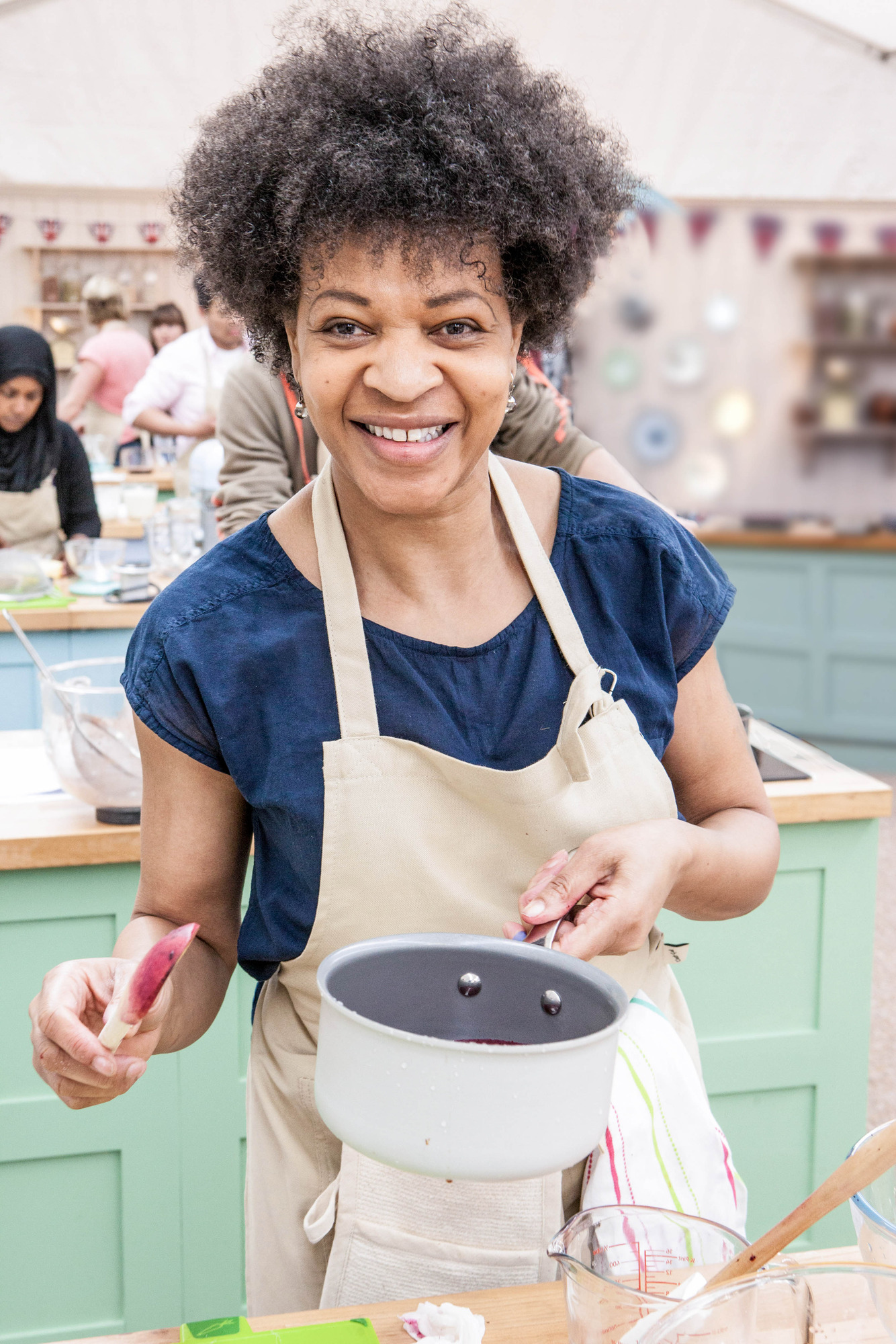 Dorret from The Great British Bake Off