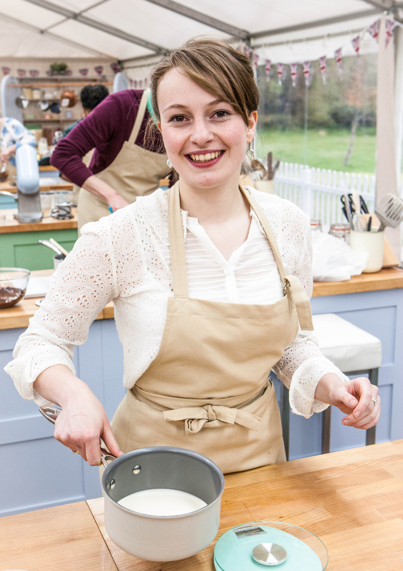 Flora from The Great British Bake Off