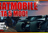 GTA 5 Batmobile Mod