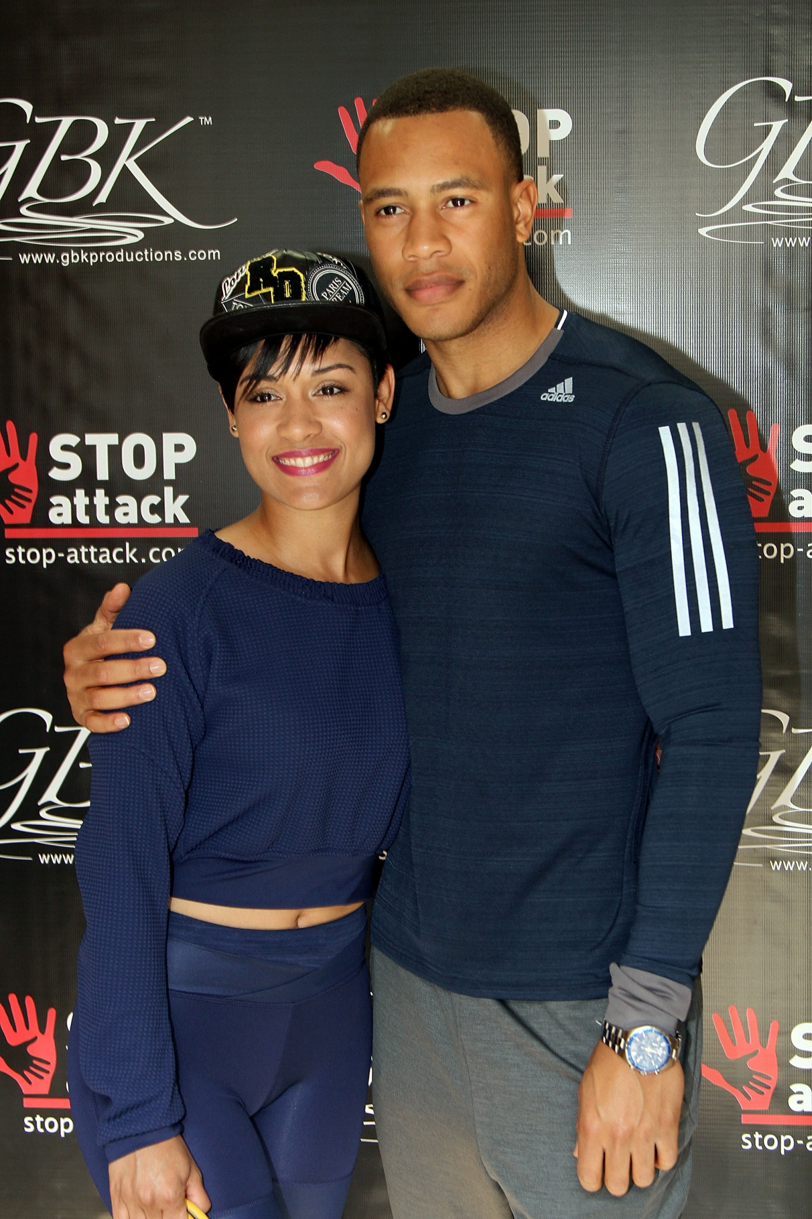 Empire stars Grace Gealey and Trai Byers