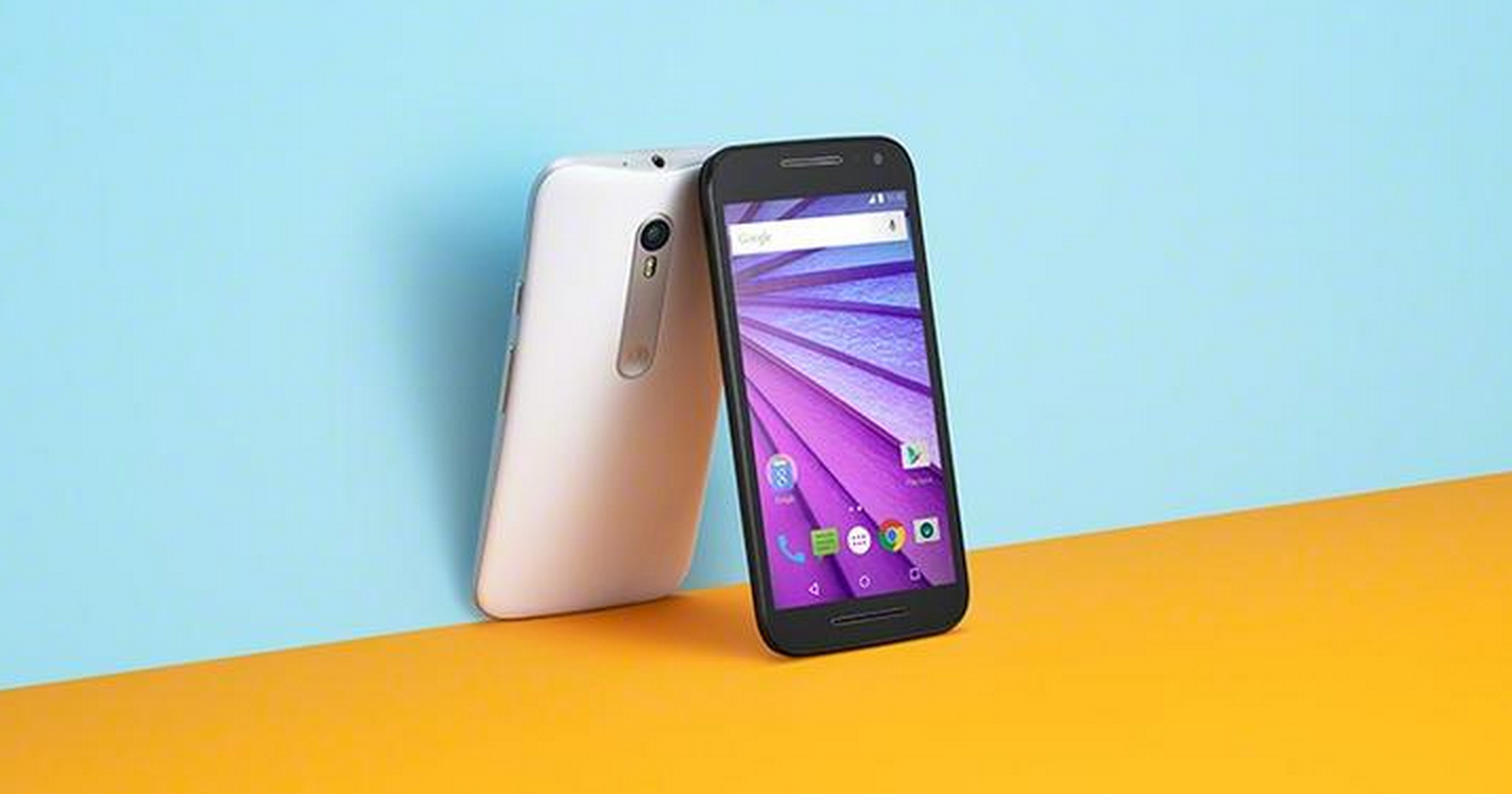 Moto G 2015 launched costing £159