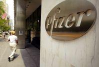 Pharmaceutical giant Pfizer