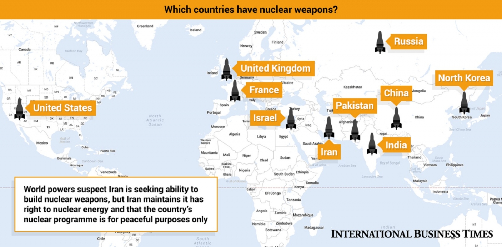 Nuclear weapons countries