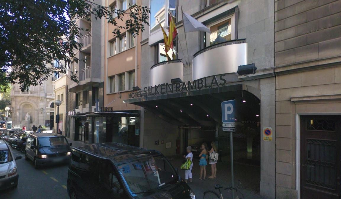 Hotel Silken Rambla Barcelona shooting