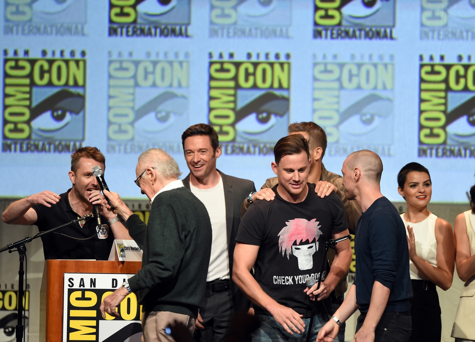 Channing Tatum at Comic Con 2015