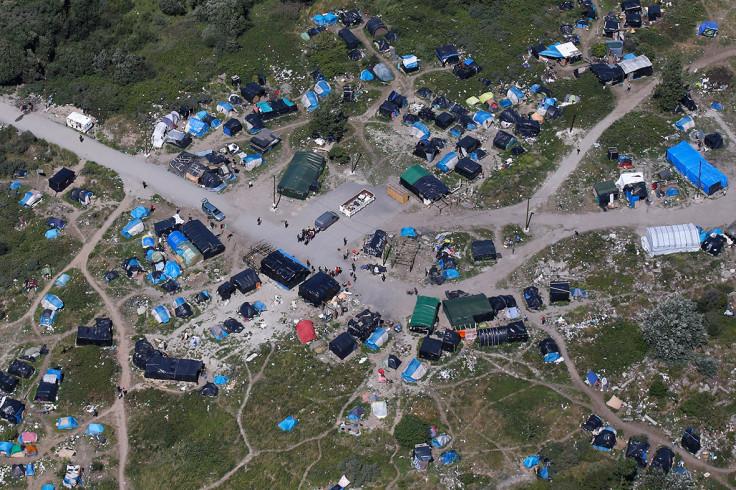 Calais migrants New Jungle