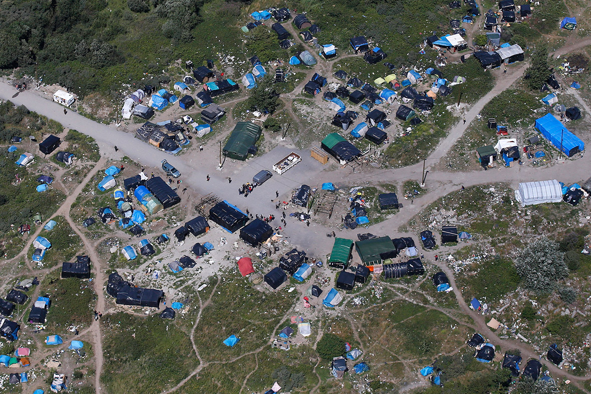 Calais migrants New Jungle