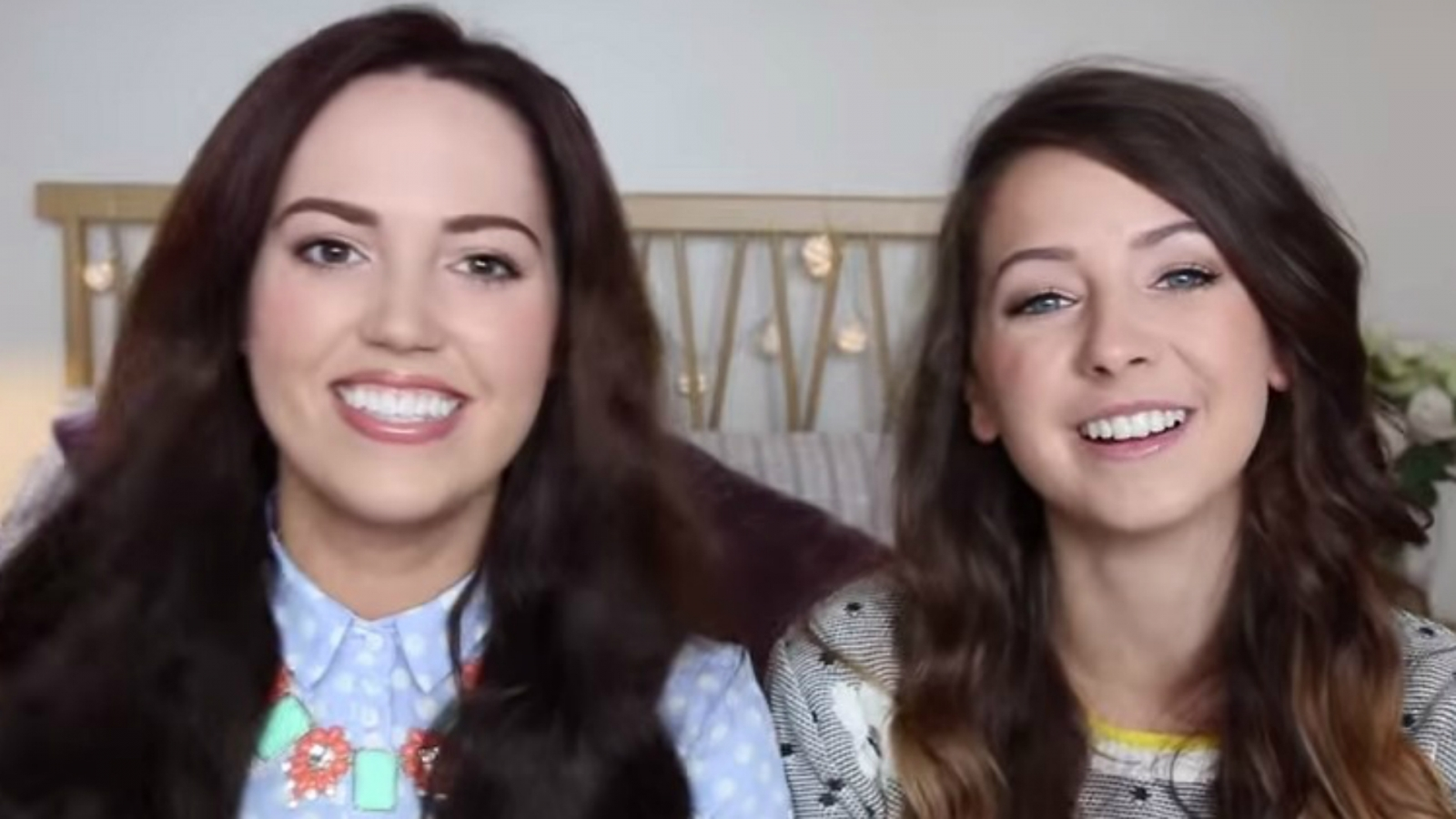 Zoella and Gabby
