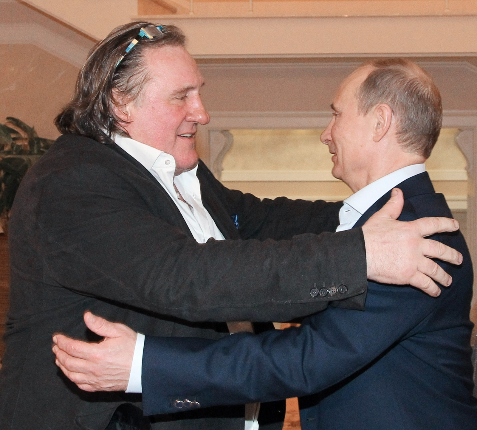 Gerard Depardieu and Putin