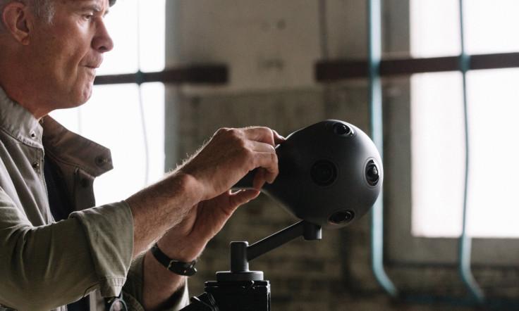 Nokia Ozo VR camera rig