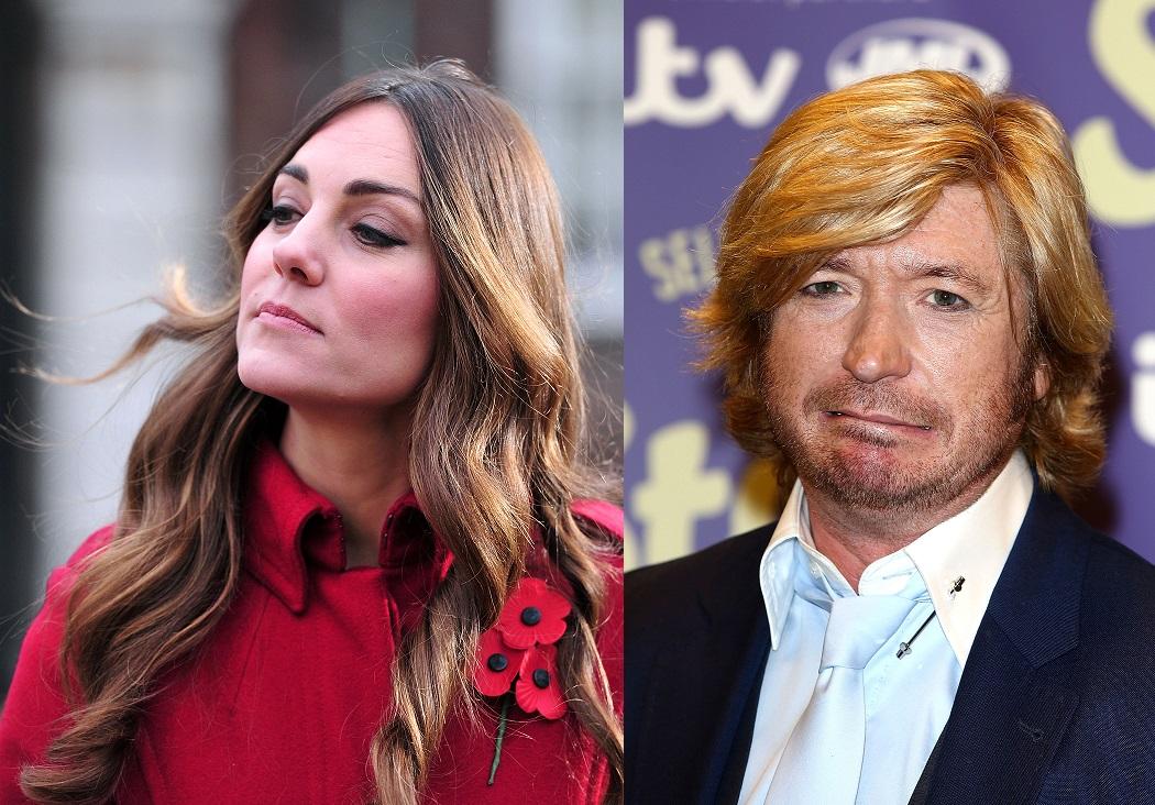 Kate Middleton and Nicky Clarke