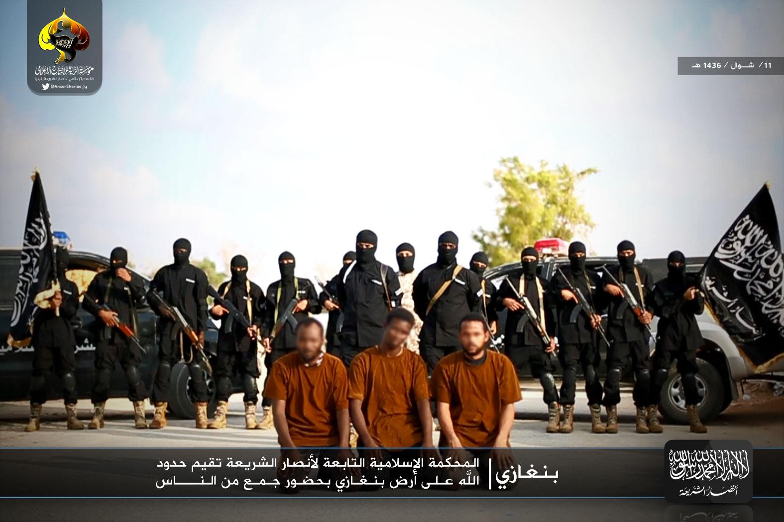 Ansar Sharia's Islamic Police in Benghazi