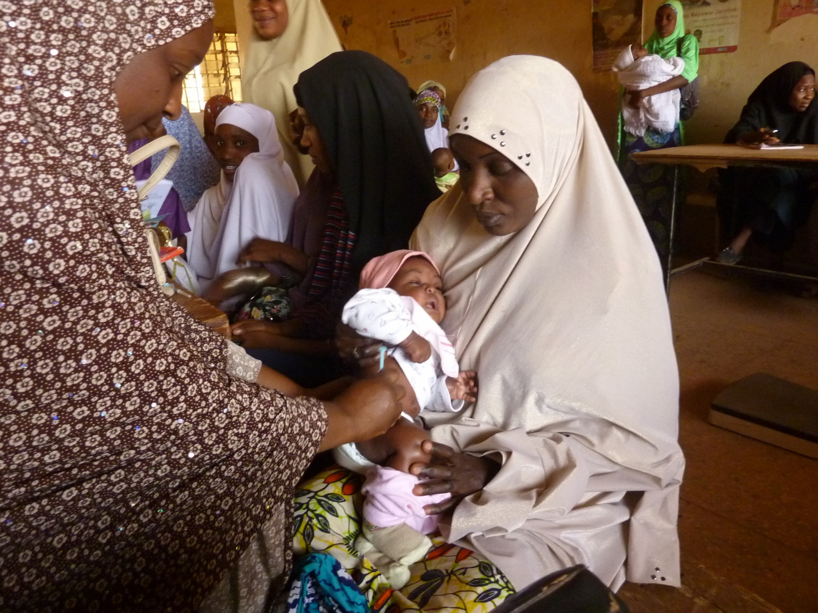 Nigeria polio vaccination