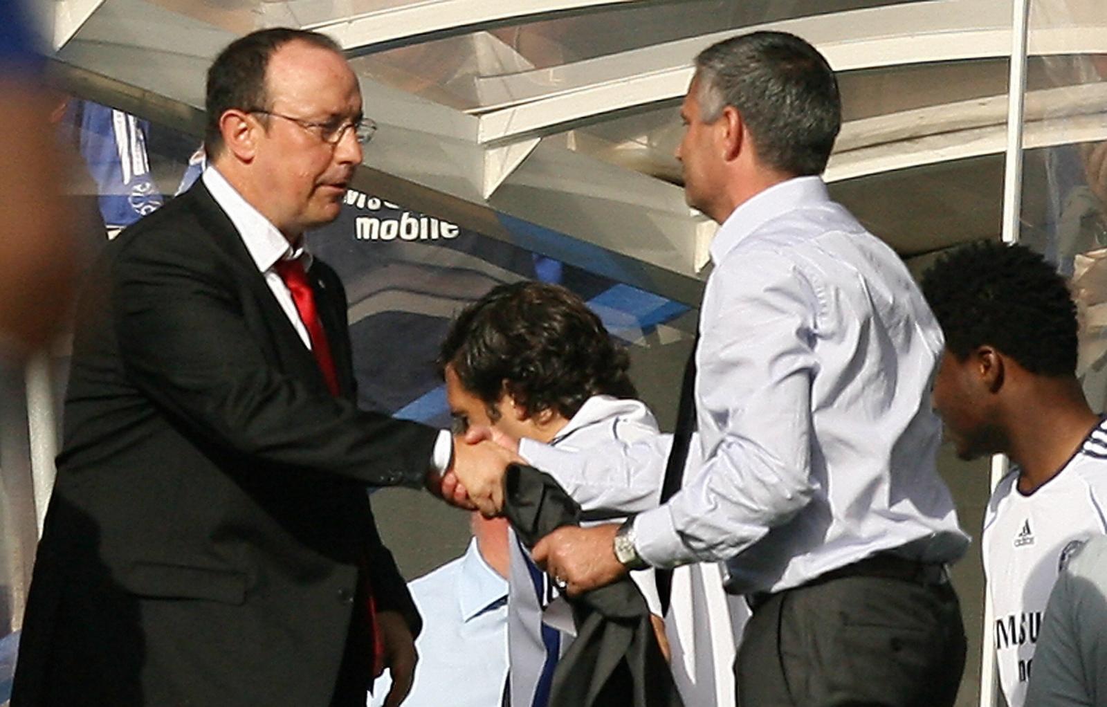 Rafa Benitez and Mourinho