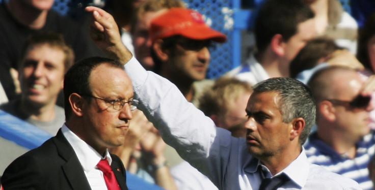 Rafa Benitez v Jose Mourinho 2