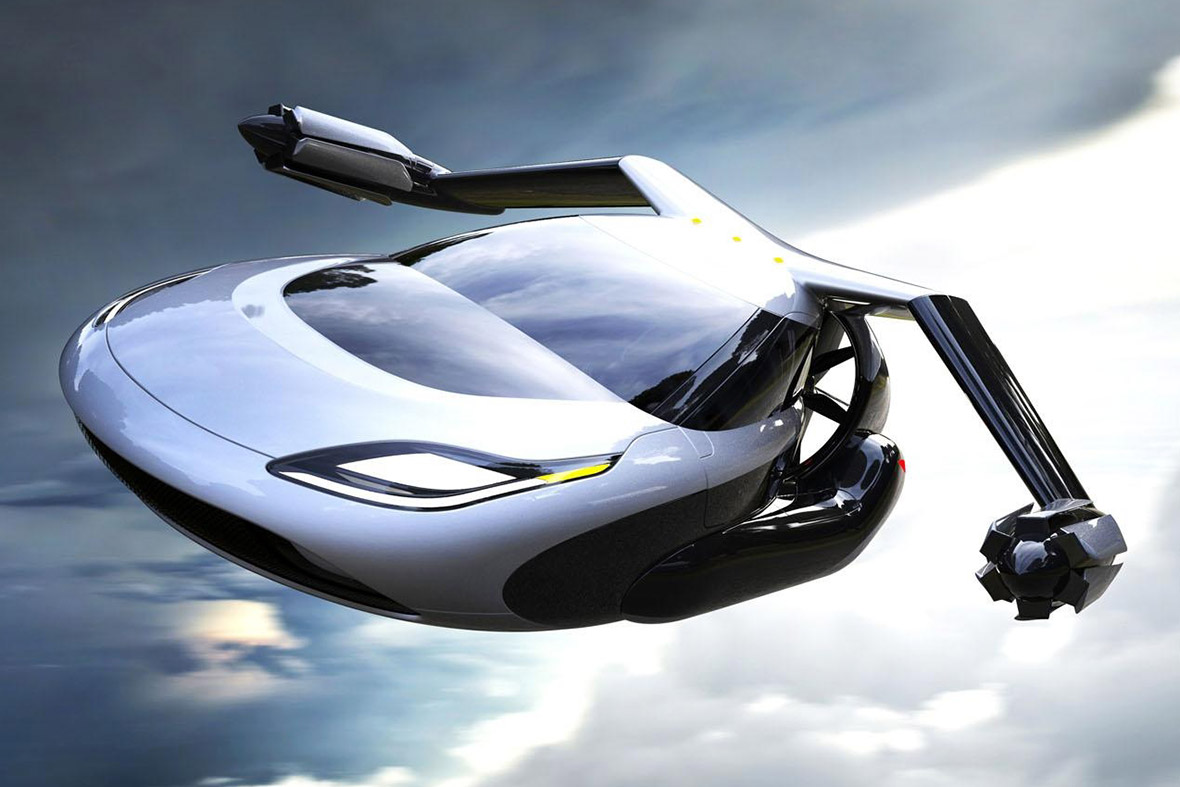 The Terrafugia TF-X electric flying car concept