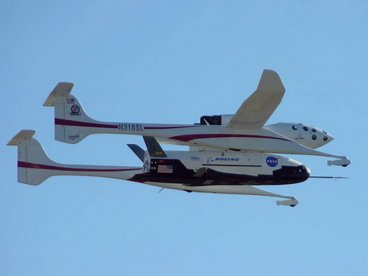 The Boeing X37-B space plane