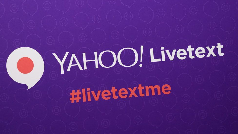 Yahoo Livetext messaging app