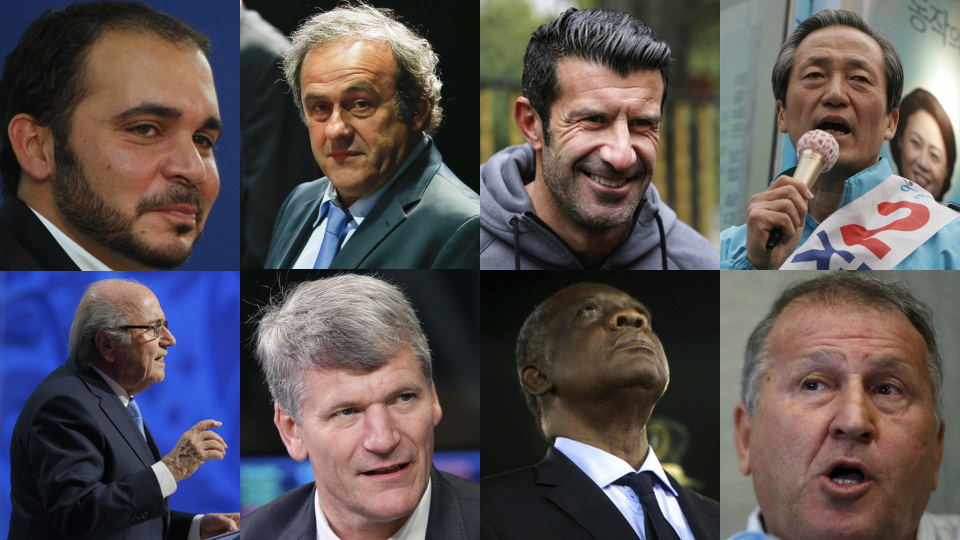 Fifa presidency candidates