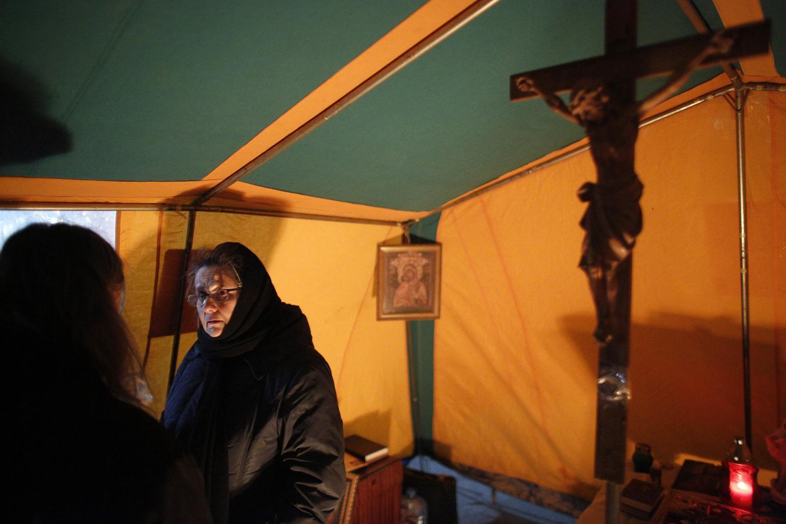 Orthodox nun killed