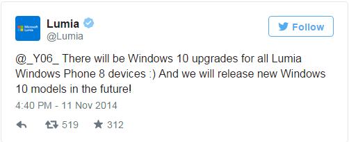 Windows 10 Mobile for Microsoft Lumia