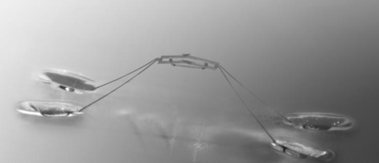 robot jump water