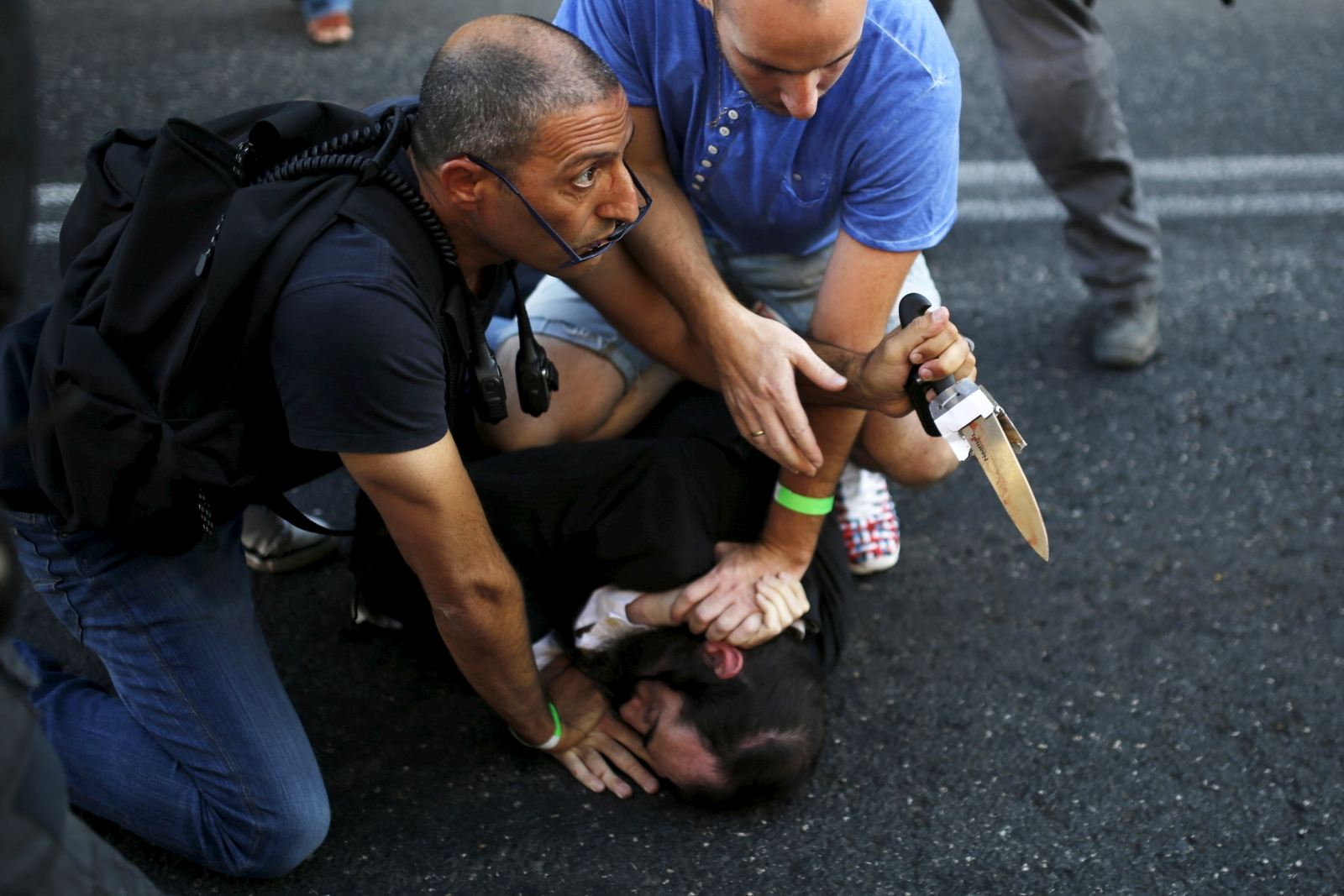 Israel gay parade attack