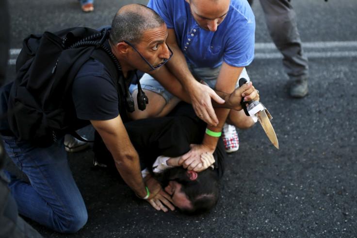 Israel gay parade attack
