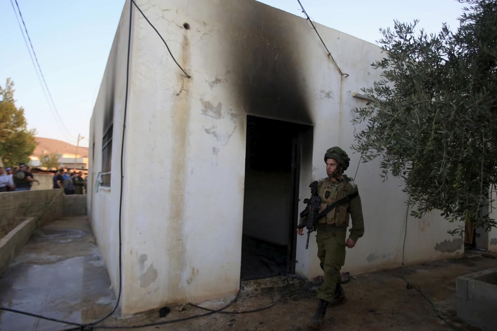 Palestine child burnt to death