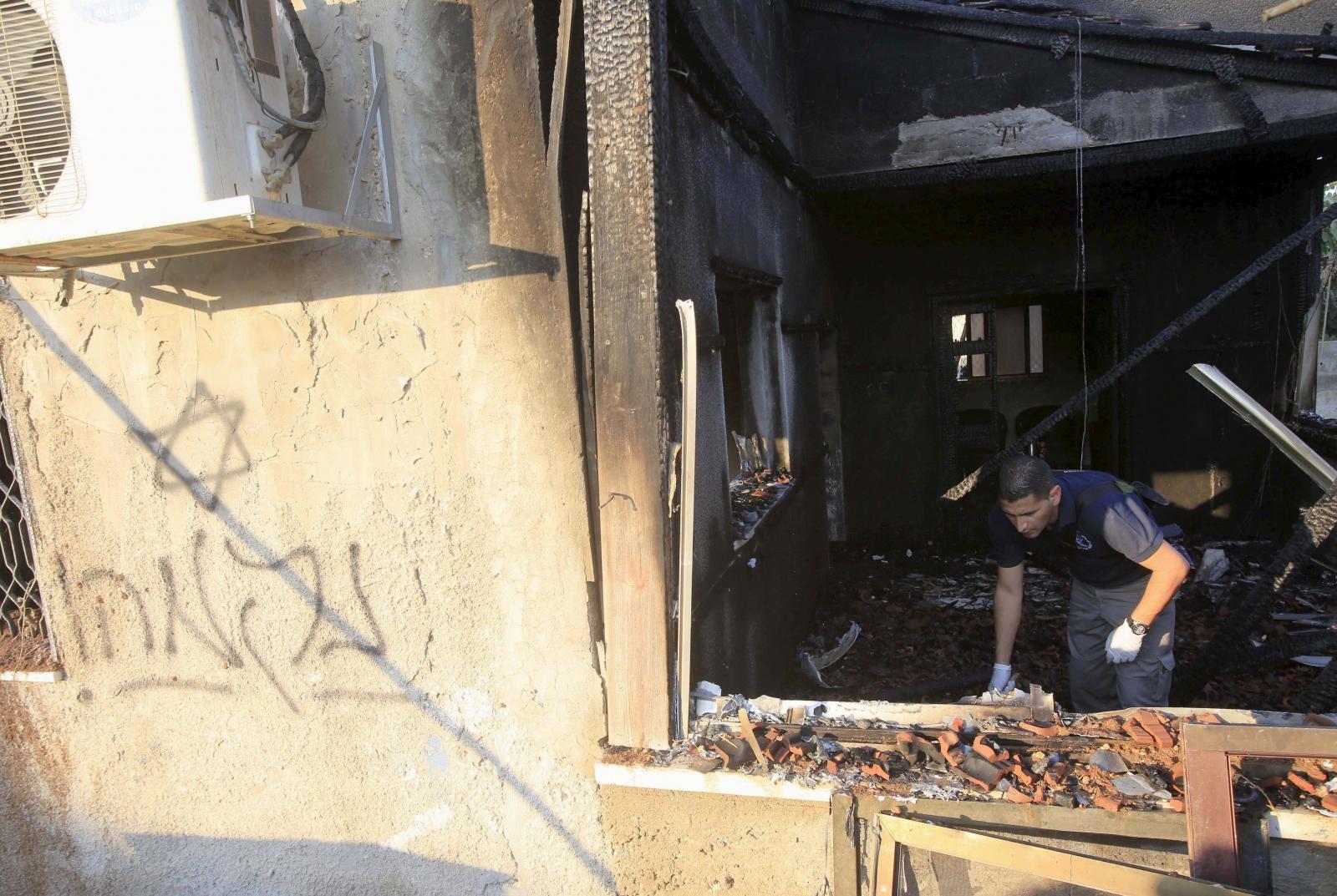 Palestinian toddler arson attack Nablus Duma