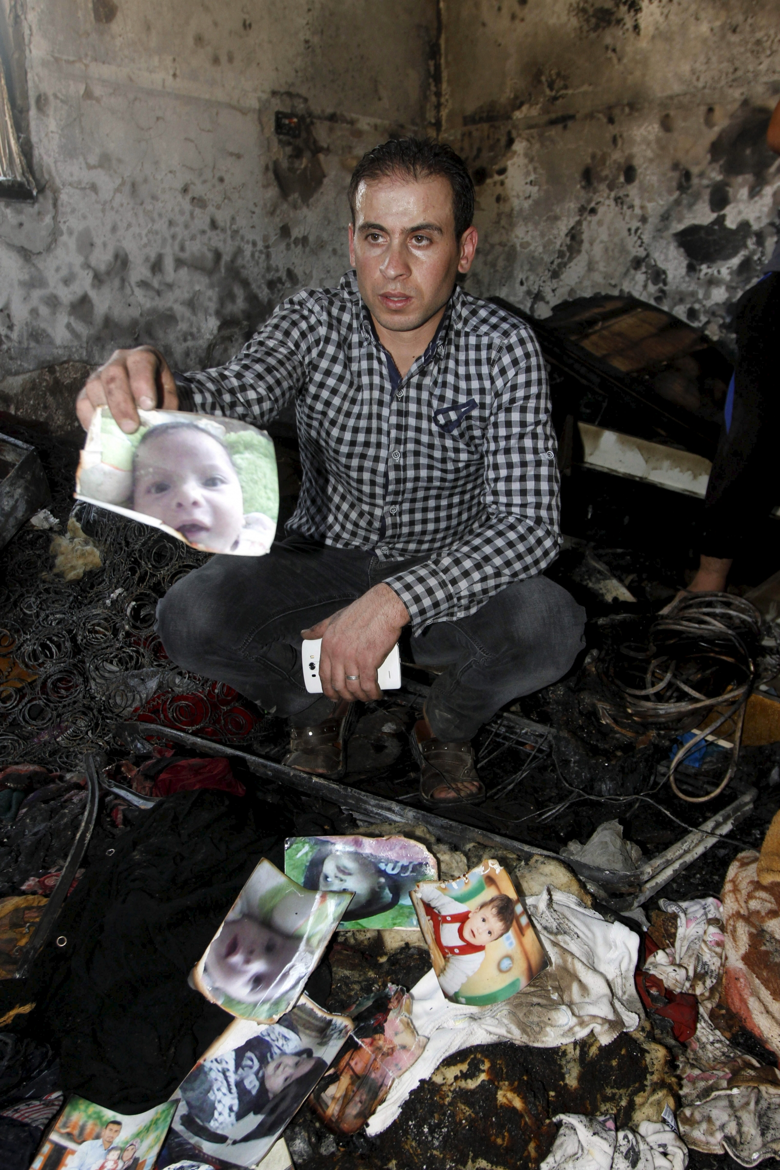 Palestinian toddler burned to death