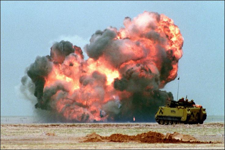 Gulf War explosion