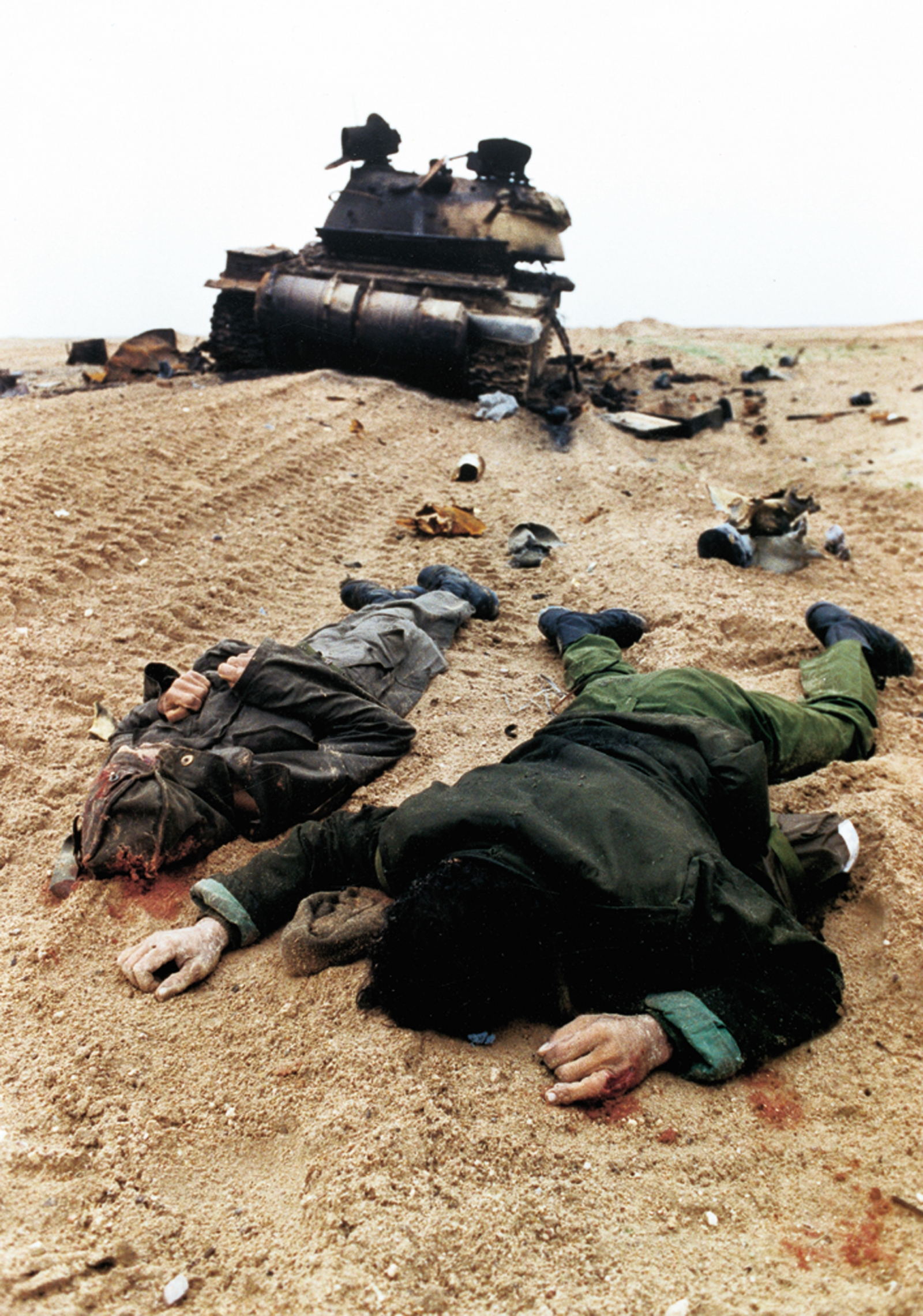 Gulf War iraq soldiers dead